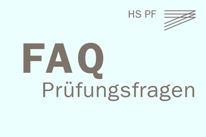 FAQ - Prüfungsfragen