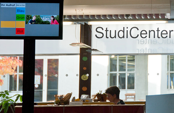 StudiCenter - Informationen und Kurzberatung zu studienbezogenen Themen