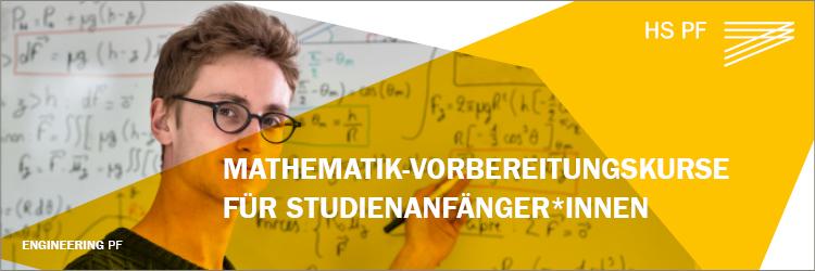 Mathematik Vorbereitungskurse für Studienanfänger*innen