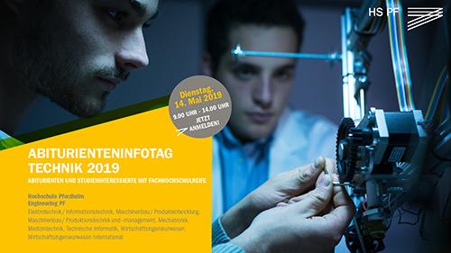 "Online-Broschüre ""Abiturienteninfotag Technik 2019"""